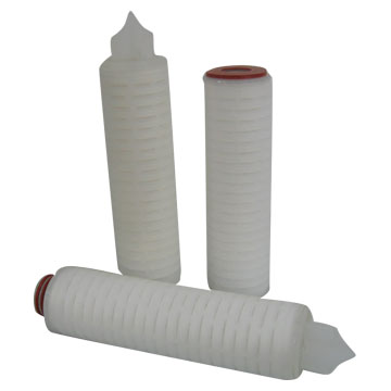 Membrane Pleated Filters and Pleated Filters